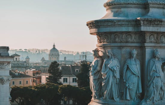 Rome's rooftops
