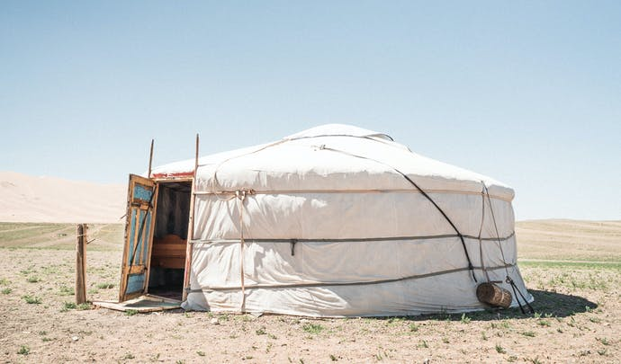 Luxury Camps in Mongolia