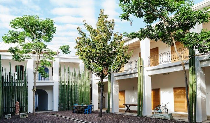Casa Azul courtyard, Mexico City