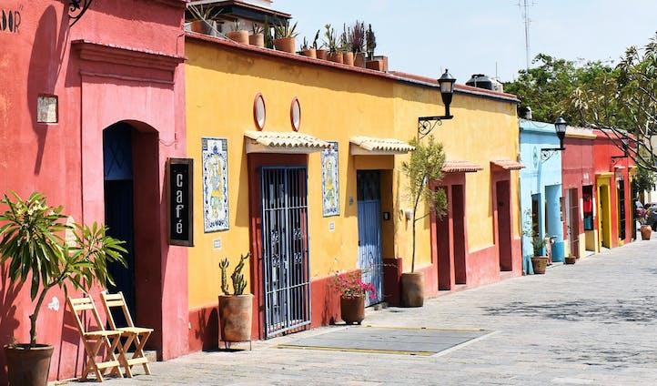 Oaxacan Pastel Street