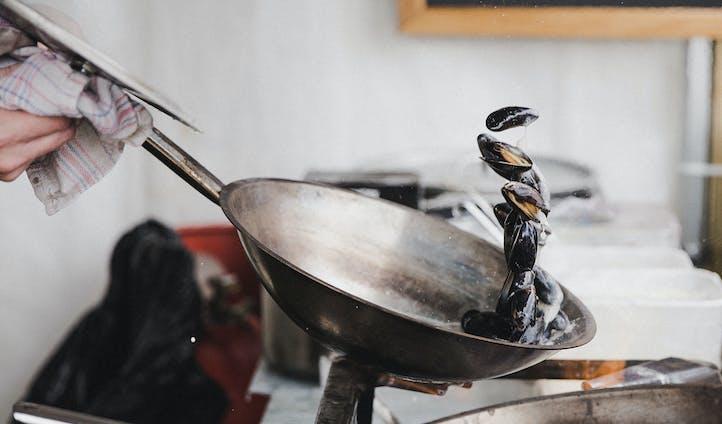 Mussels-Pan