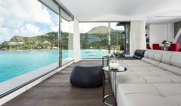 Luxury hotels with sea views in St Barths