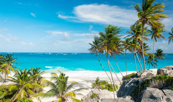 Luxury hotels along the beaches of Barbados