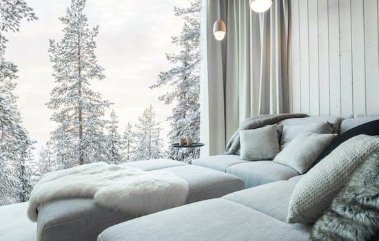 Romantic honeymoon in Finland