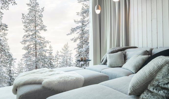 Romantic honeymoon in Finland