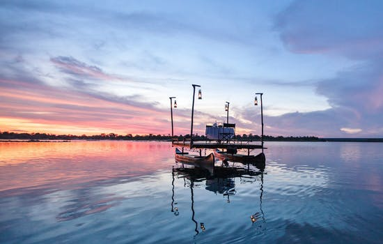 Sampan dinner on the Zambezi River