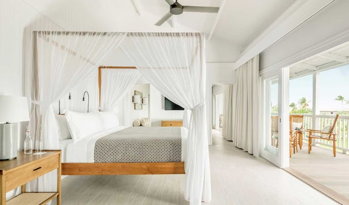 Stay at Parrot's Cay in Turks and Caicos