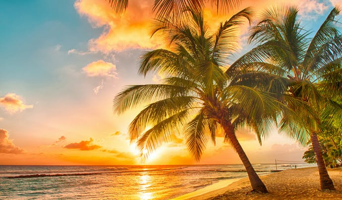 Romantic honeymoons in Barbados
