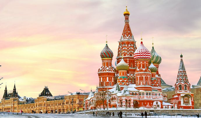 Explore the beauty of Russia