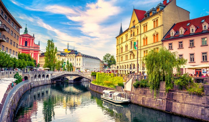 Slovenia's city hotels