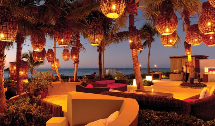Hotels on the beach in Turks and Caicos