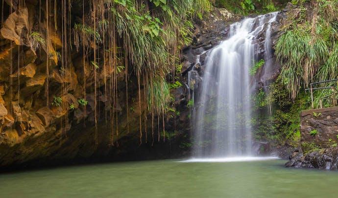 Hotels on the hillside in Grenada