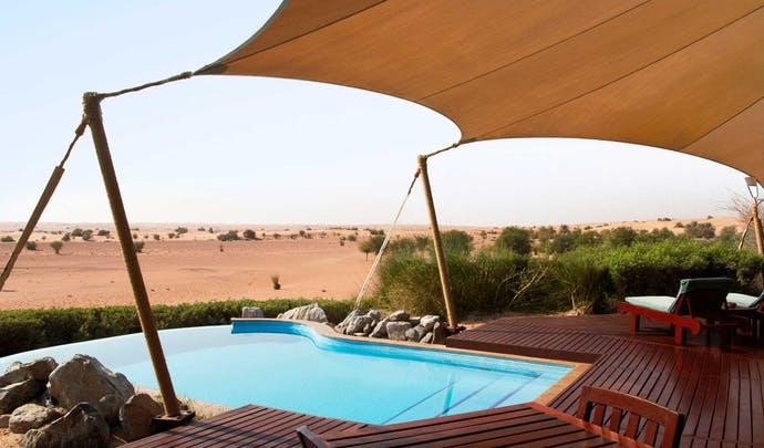 Luxury hotels in the desert