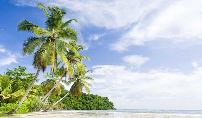 Hotels on the beach in Grenada