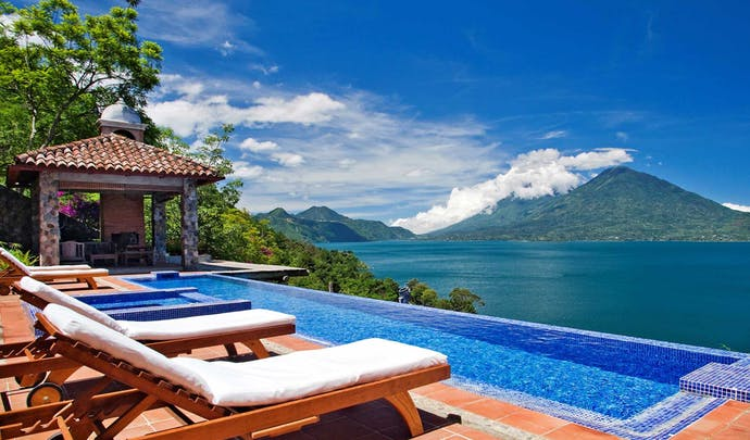 Stay on the lakes in Guatemala