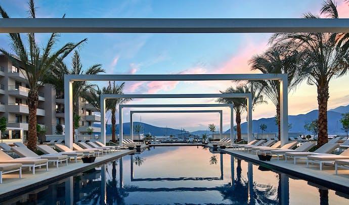 Hotels in Montenegro's bay