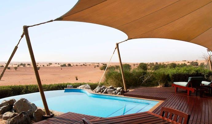 Luxury hotels in the desert