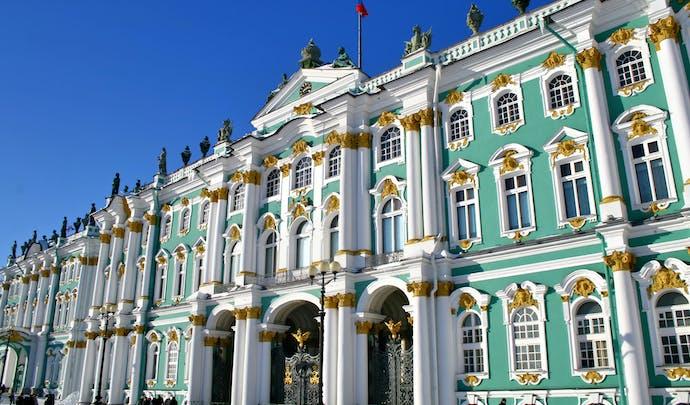 Walk around the Hermitage, Russia