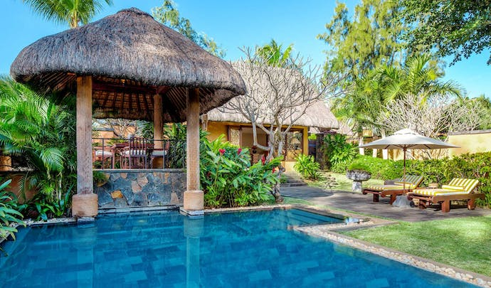 Infinity pools and hotels in Mauritius