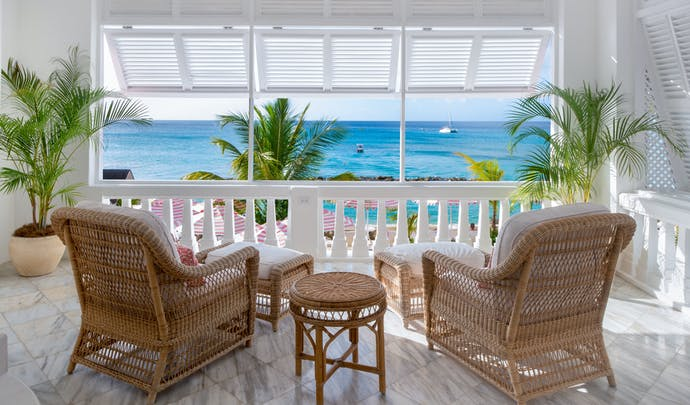 Stay in the peaceful coves in Barbados