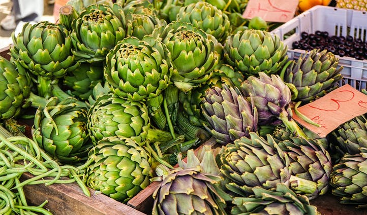 Artichokes in Florence