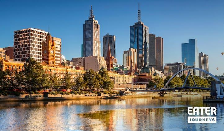 Waterside views in Melbourne