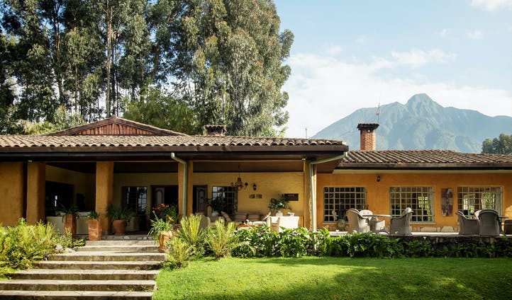 Luxury lodges in Virunga