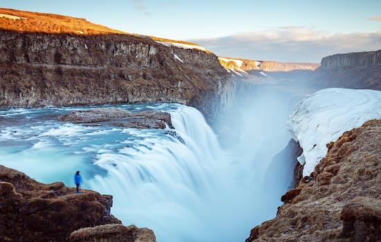 Gulfoss Waterfall, Iceland