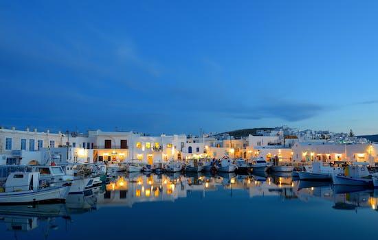 Naoussa Port, Paros