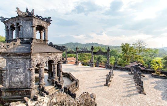Tomb Khai Dinh, Vietnam