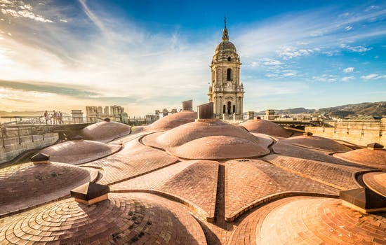 Roof of Malaga Cathedral