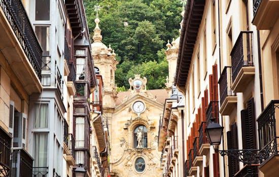 San Sebastian old town