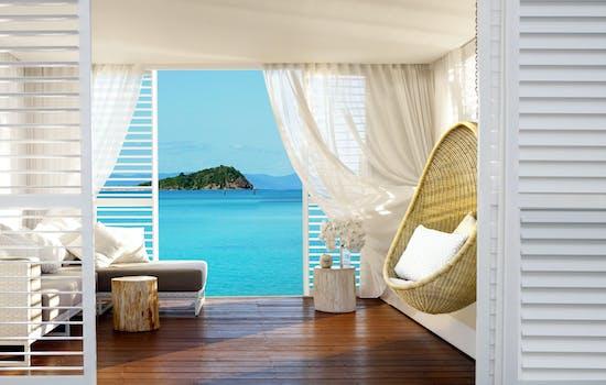 Hayman Island sea view room