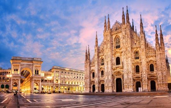 Milan duomo cathedral, Italy