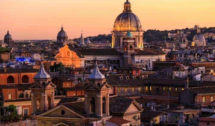Luxury holidays in Rome