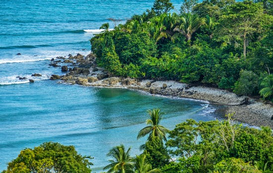 Puerto Jimenez in Osa Peninsula, Costa Rica