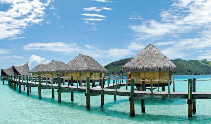 A beach hideaway in French Polynesia