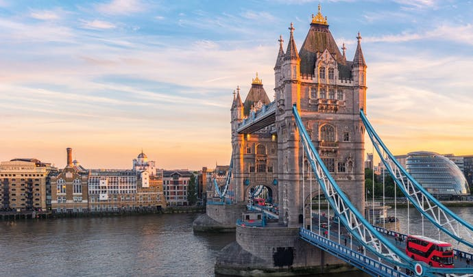London Tower Bridge, England
