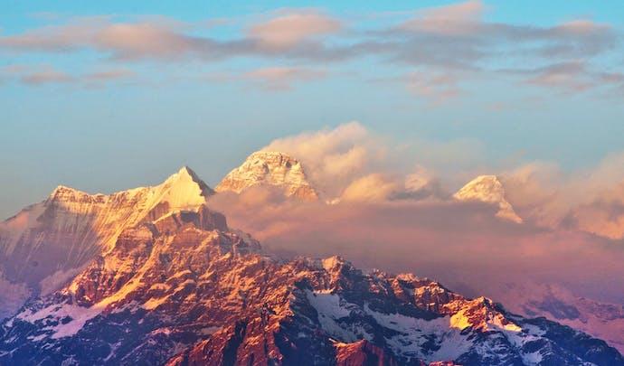 Himalayan mountains, India