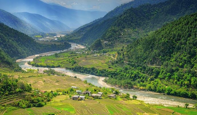 Luxury holidays in Bhutan