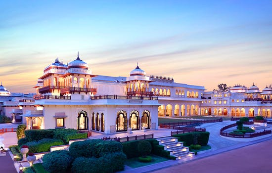 Rambagh Palace hotel, India
