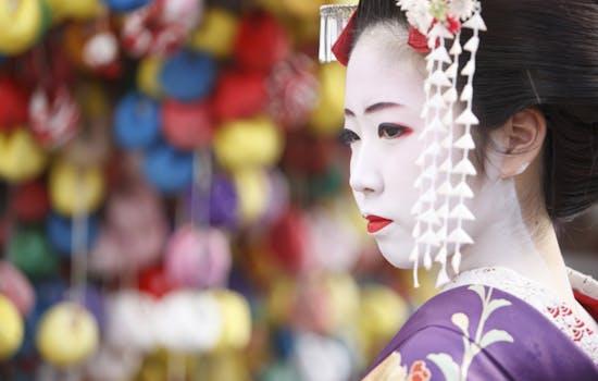 Geisha in Kyoto, Japan