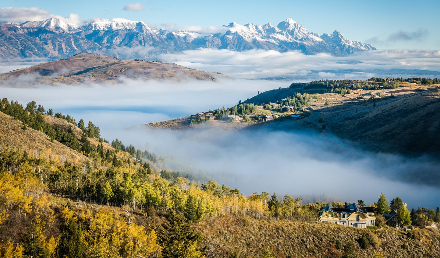 Luxury vacations to Wyoming
