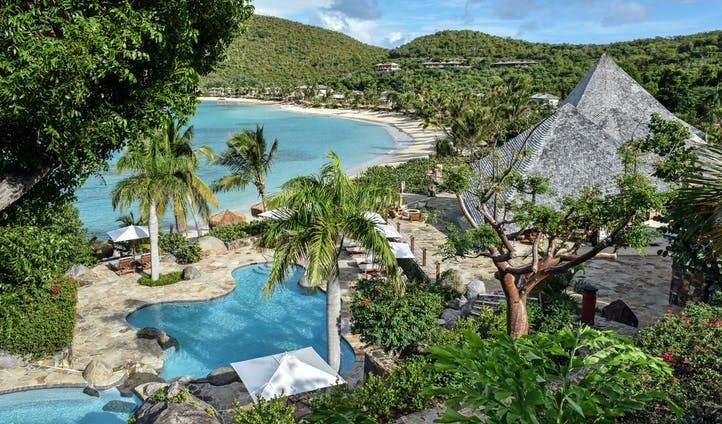 Luxury hotels in the British Virgin Islands