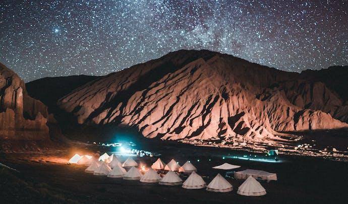 Sleep under the stars in the Atacama