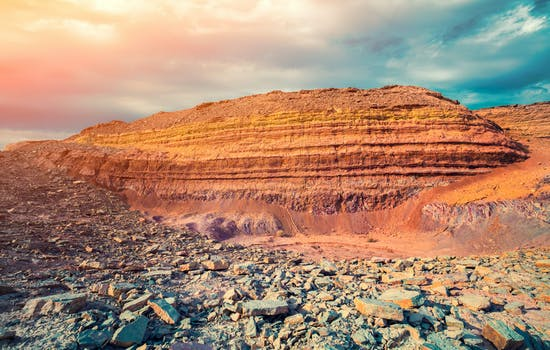 Ramon Crater in Israel