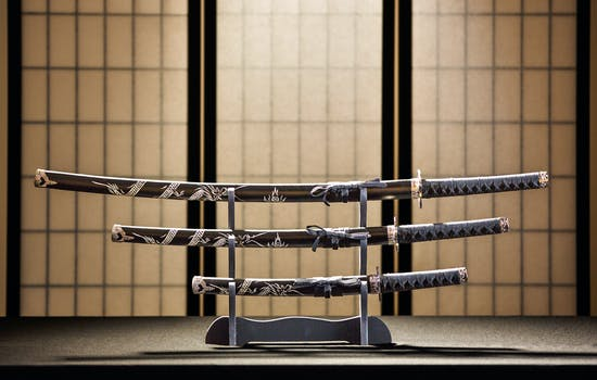 Samuari swords in Japan
