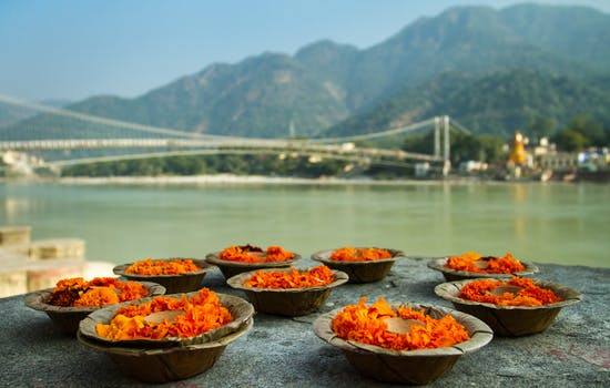 Ganga Aarti ceremony in Rishikesh