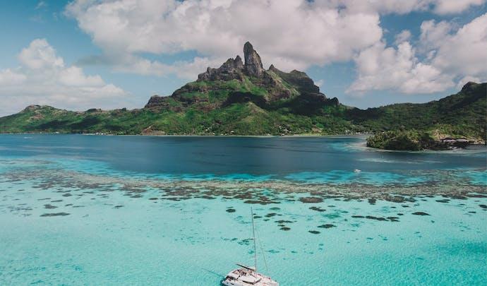 Bora Bora in French Polynesia
