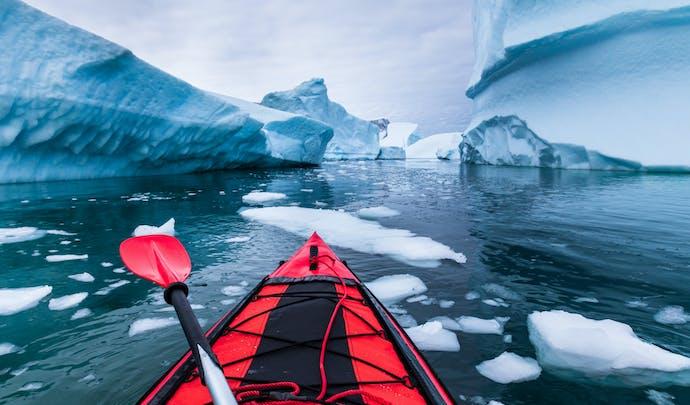 Exploring Antarctica via kayak